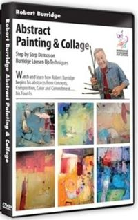 Watch and learn how Robert Burridge begins his abstracts from Concepts, Composition, Color and Commitment. ...