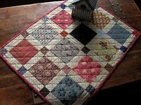 Scrap Squares from The Civil War Sewing Circle by Kathleen Tracy