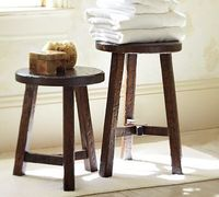 Colby Accent Stool #potterybarn