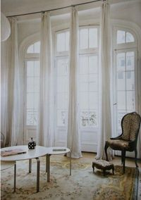 Long White Curtains For The Home Juxtapost