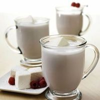White Chocolate Raspberry Hot Chocolate