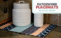 Patchwork Placemat Tutorial - Thirty Handmade Days
