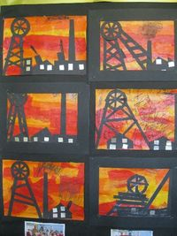 Coal Mining Art (Heritage Week) from Mary