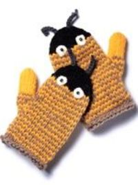 Bug Mittens knitting pattern