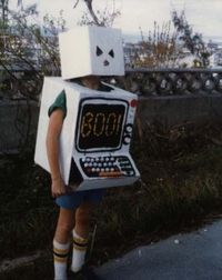 Halloween costume in 1981