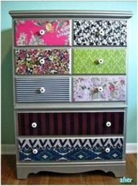decorate with fabric
