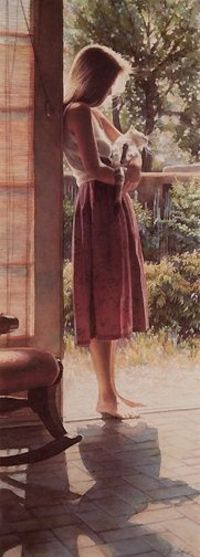 Senesa & The Cat by Steve Hanks