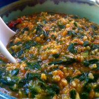 Spinach Oats