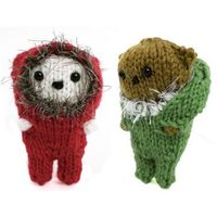 Adorable little Bundle Up Bears #knit pattern by Mochimochiland