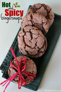 Hot and Spicy Gingersnaps from