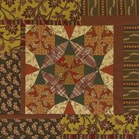 can't say i like their colour value choices, but if you unfocus your eyes you can see the movement the designer was trying to create .. oh its a free pattern :) Criss Cross Table Topper