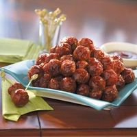 SWEET CHILI BBQ MEATBALLS