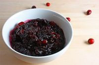 Cranberry Sauce with Pinot Noir