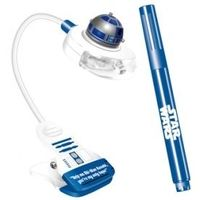 STAR WARS R2-D2 Booklight with UV and Magic Pen