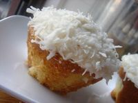 Coconut Low-Fat Cupcake