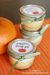 cute favors for Thanksgiving!