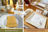 FREE Thanksgiving Printable Tablescapes from Paper & Cake