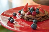 Createlive: Protein Chocolate Banana Pancakes (Low-Carb)