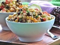 April 2012 Newsletter: Southwestern Quinoa Salad with Chili-Lime Dressing