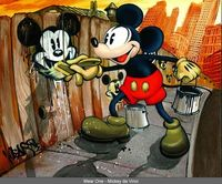 #Disney Mickey Painting
