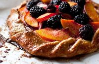 "Nectarine or Peach and Blackberry Galette �€"" Recipes for Health - NYTimes.com"