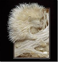 awesome cool beautiful incredible paper art works sculptures (5) #EasyNip