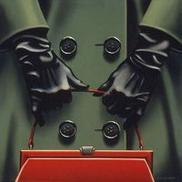 The Big Red Purse | Kenton Nelson