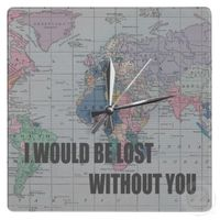 Lost without you clock