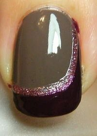 cool nail art--link to the process.