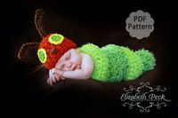 The Very Hungry Caterpillar Crochet Pattern. $5.00, via Etsy.