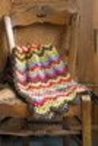 Churchmouse Yarns & Teas - Vintage Crocheted Blanket Pattern