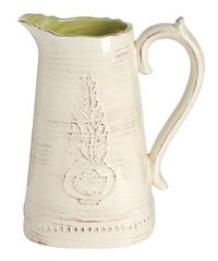 Porcelain Small #Pitcher on #zulily