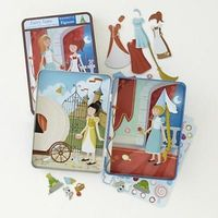 Toy Magnetic Dress Up Fairy Tales Part1