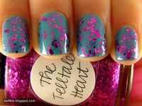 like the speckle sparkle look