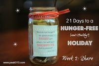 HungerFreeHoliday: Week 2- Share