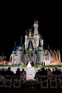 ceremony location at the castle