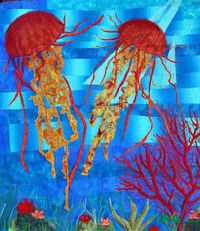 Barbara Harms Jellyfish Quilt