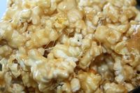 CARAMEL FLUFF POPCORN is oh so delicious and highly addictive. You've been warned. So simple to make!