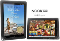 Price for B&N Nook HD+ begins at $269 for 16GB of hoarding space and $299 for 32GB variant, which are expandable by dropping a 32GB card into built-in microSD card slot.