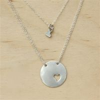Piece of My Heart Necklace. Adorable mother-daughter necklace. I love this!!