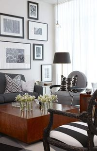 Modern Chic Living Room Sarah Richardson condo