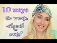 10 ways to wear head scarf