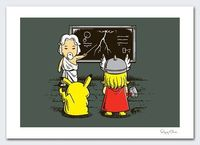 Lightning Lessons by flyingmouse365 on Etsy