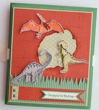 Pop Up Dinosaur -