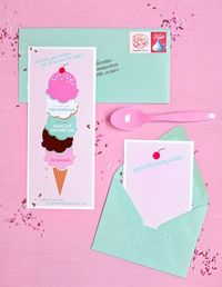 icecream invites