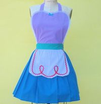 apron little Mermaid Ariel princess APRON by loverdoversclothing, $29.99