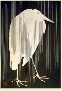 Things that Quicken the Heart: Rain - Japanese Woodcuts