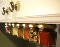 magnetic spice rack, under the counter or shelf?