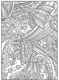 Paisley wholecloth inspiration