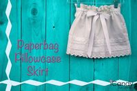 icandy handmade: (tutorial) Paperbag Pillowcase Skirt